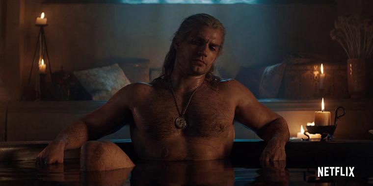 Geralt in a Tub